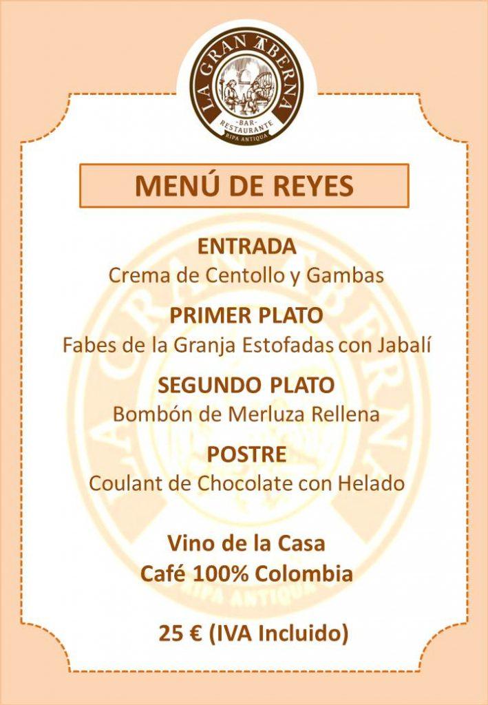 Menú de Reyes, La Gran Taberna